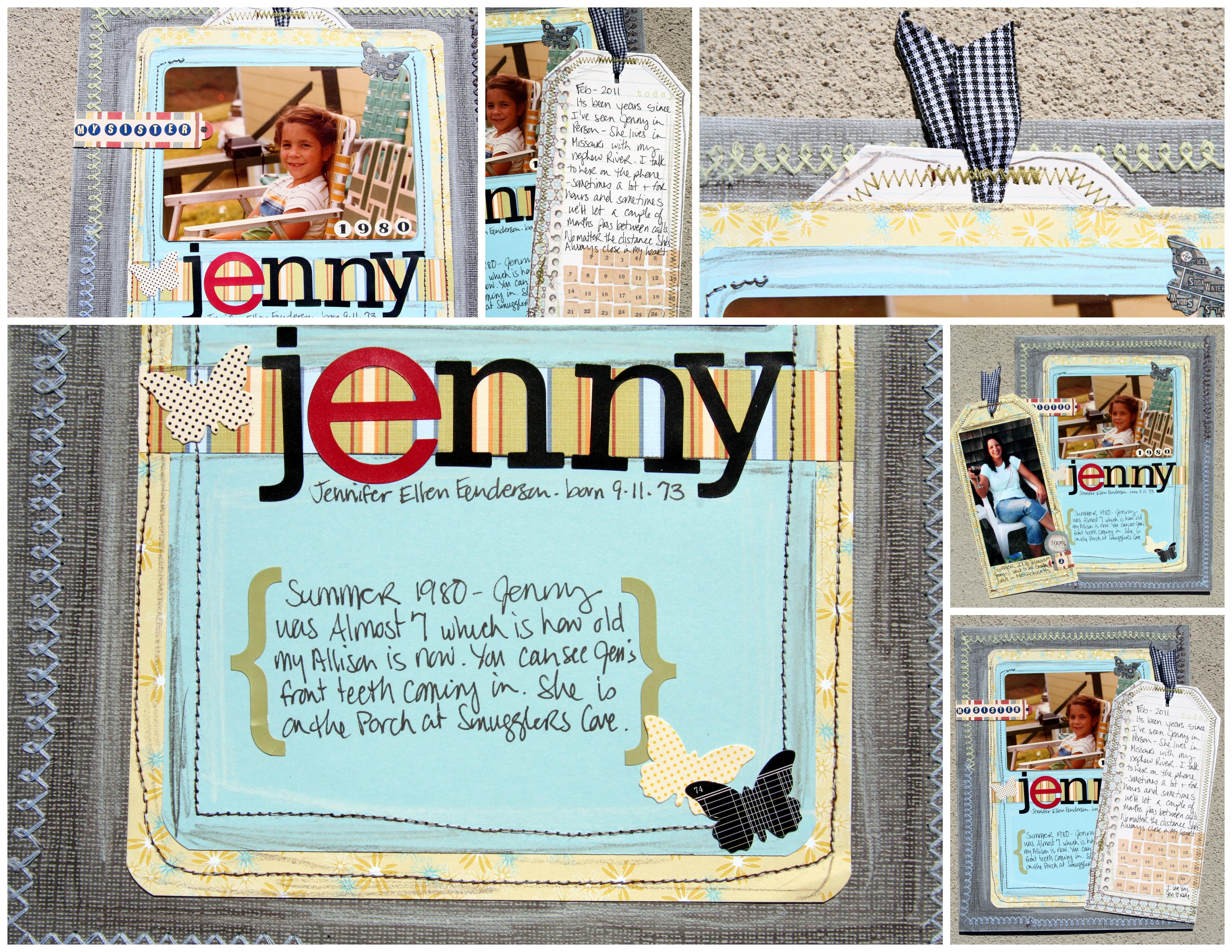 Ziplining scrapbook ideas - Jennycollage