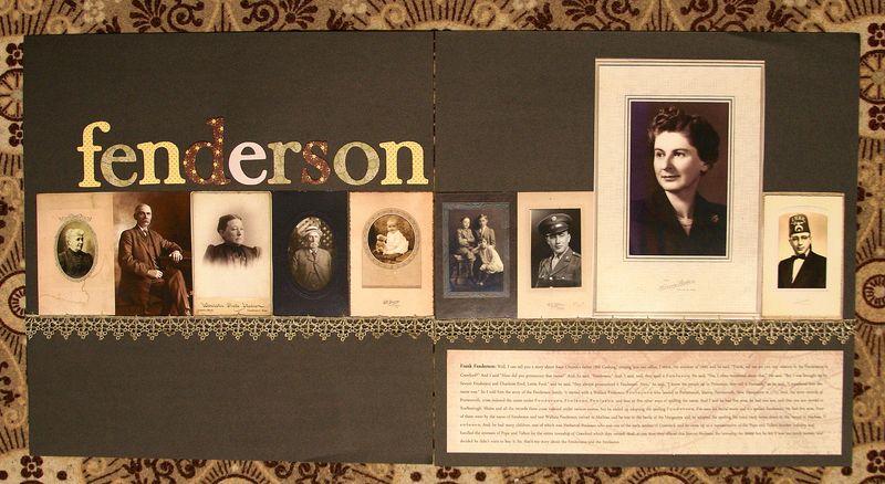 Fenderson  history