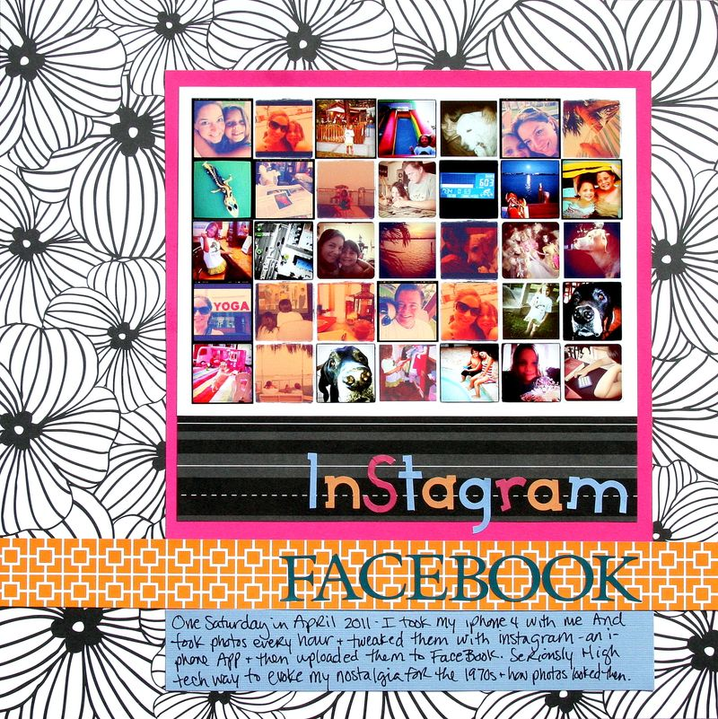 Instragram Facebook