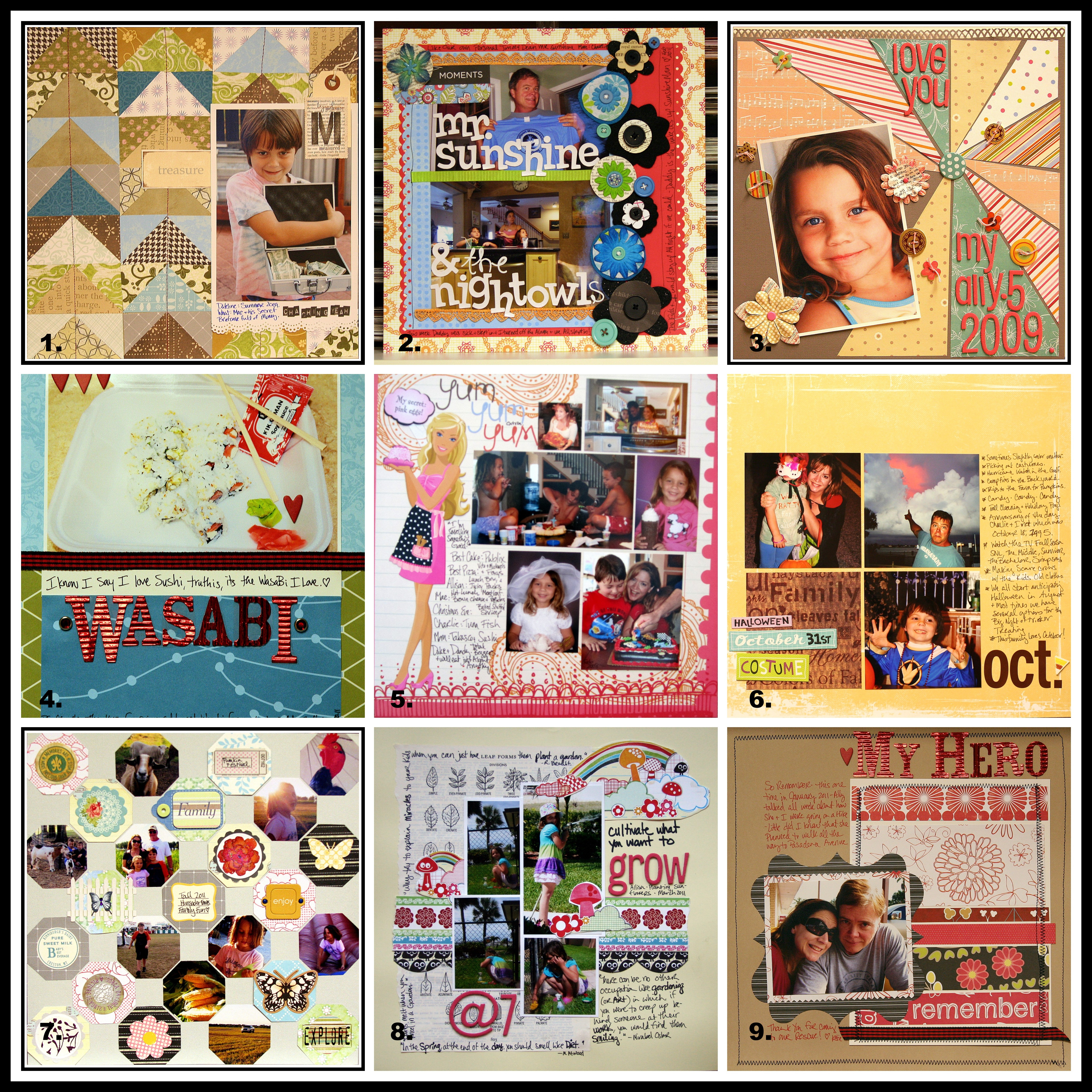 How to scrapbook on a mac - Mac Backyard Treasure This Layout Includes A Lot Of Grain Colored Patterened Paper I Used A Square Punch On Random Bits Of Scraps And Then Cut Them On