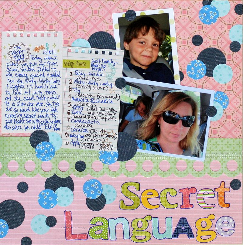 SI SECRET LANGUAGE