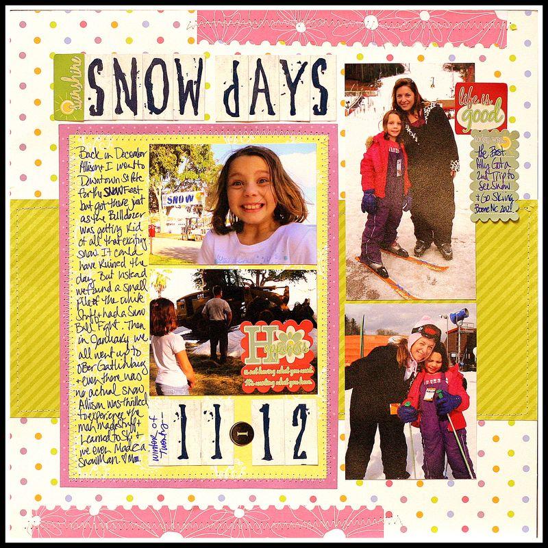 Snowdayslayout