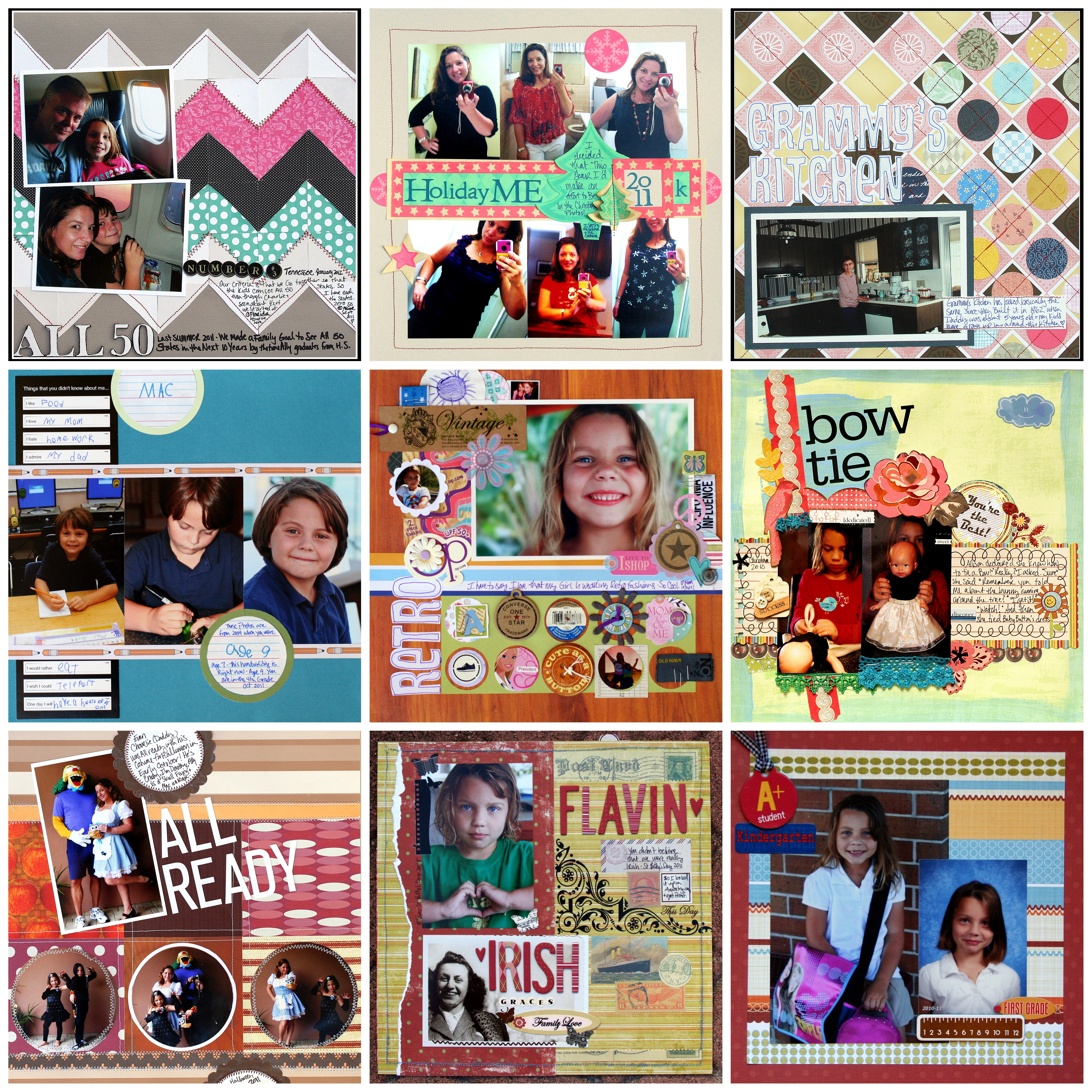 Kiss And Tell Scrapbooking Seasons September Back To School